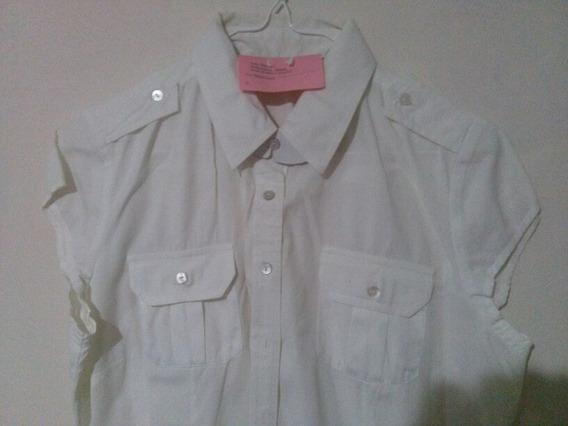 Camisa Blusa De Dama Talla S Usada 3v
