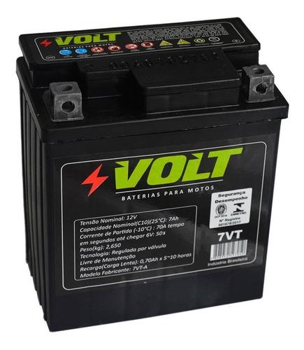 Bateria De Moto Suzuki Yes / Intruder 125 12v 7ah - Volt 7vt