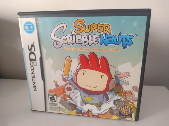 Jogo Super Scribble Nauts Nintendo Ds 3ds