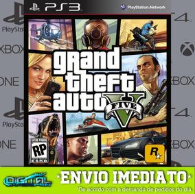 Grand Theft Auto V Ps3 (gta) Psn Midia Digital Envio Já!