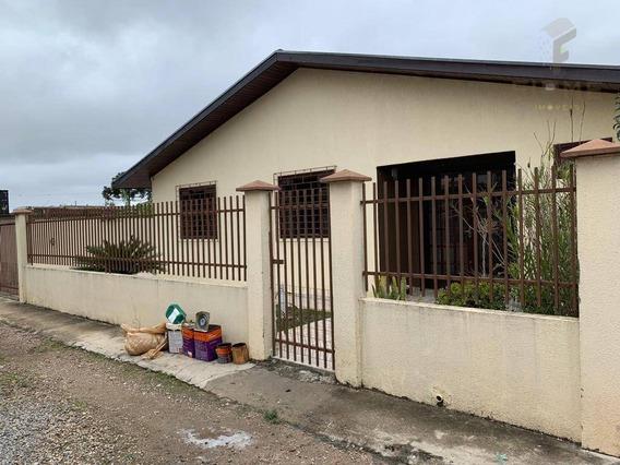 Casa Para Alugar Por R$ 1.700/mês - Planta Bairro Weissópolis - Pinhais/pr - Ca0052