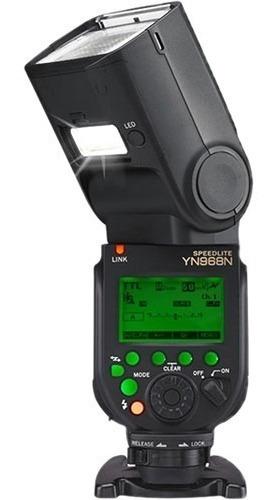 Flash Yongnuo Yn968n Ttl Para Nikon Yn-968n 12x S/juros