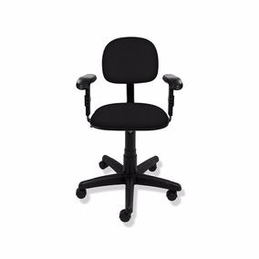 Cadeira Secretária Giratória C/ Braços Reguláveis - Fabrica