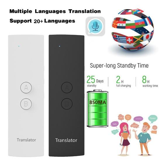 Tradutor De Voz Instante Inteligente 28+ Idiomas Discurso Fe