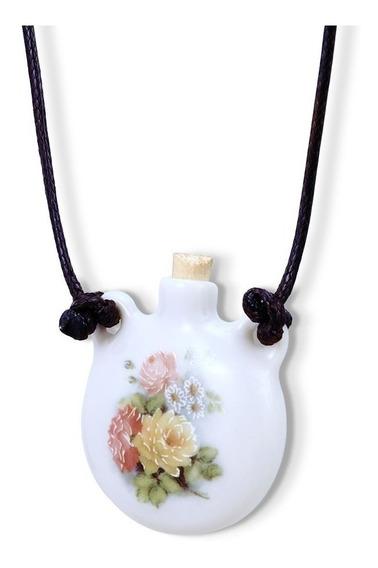 Aromatizador Pessoal Ou Porta Perfume Bouquet De Flores