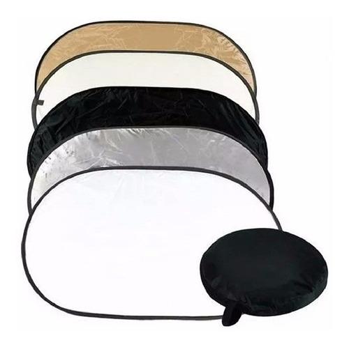 Pantalla Reflectora Plegable/colapsable 120x180 Cm Marca Godox 5 En 1 Con Estuche