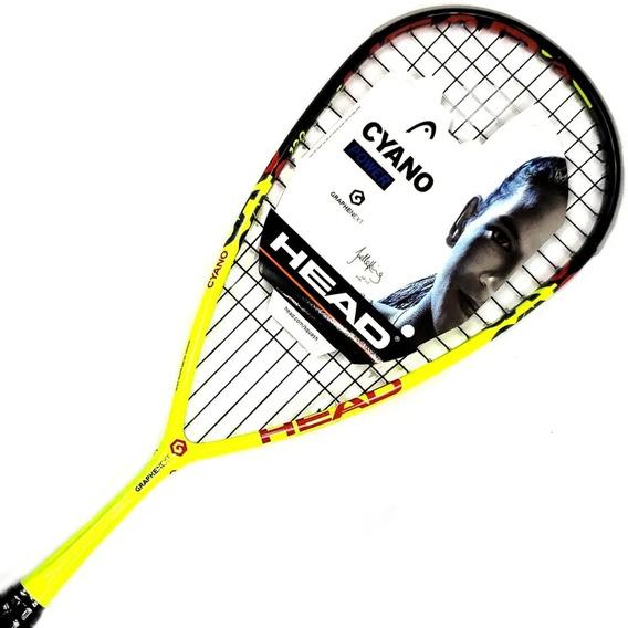 Raqueta Squash Head Cyano 120 Graphene Xt