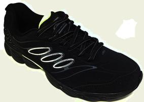 Tênis Masculino Olympikus Form -110 - Preto/limão