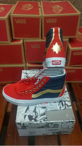 Tênis Vans Marvel Captain Marvel 33 Original