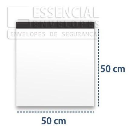 Loja Envelope Branco Roupa Sedex ( 50x50 ) 100 Pçs!