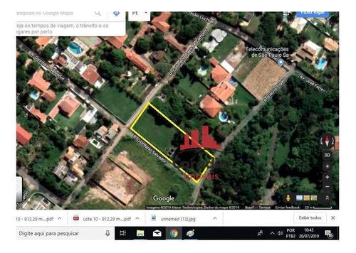 Chácara À Venda, 812 M² Por R$ 260.000 - Chácara Lucília - Americana/sp - Ch0098
