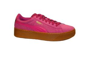 Tenis Puma Vikky Platform Rose Violet