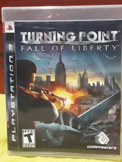 Turning Point - Fall Of Liberty (jogo Mídia Física Ps3)