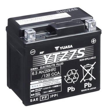 Batería Moto Yuasa Ytz7s Ktm 450smr 09/12
