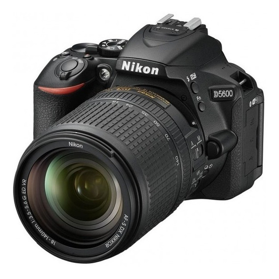 Nikon D5600 Kit + Lente 50mm Nikon, 2 Baterias, Battery Grip