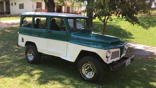 Ford Rural Willys 4x4 Reduzida