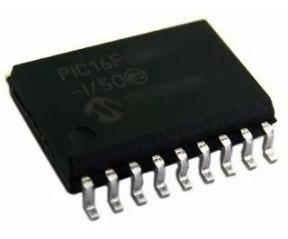 1 Circuito Integrado Microcontrolador Ci Pic Smd 16f819-i/so