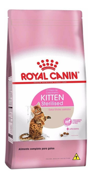 Ração Royal Canin Gatos Kitten Sterilised 7,5kg Fil.castrado