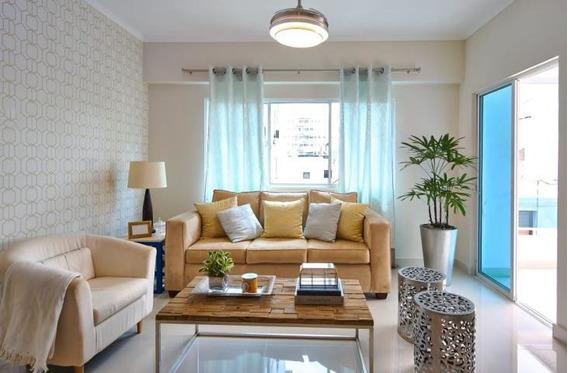 Apartamento En Venta Evaristo Morales, 3 Hab, Gym