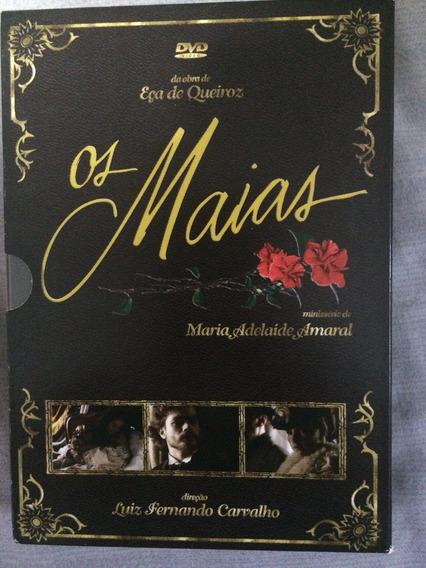 Os Maias Rede Globo Série Completa Box Original