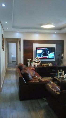 Imagem 1 de 30 de Apartamento Na Vila Augusta, Condomínio Parque Clube, 134m², 4 Dormitórios, 3 Suítes, 2 Vagas. - Ap0301