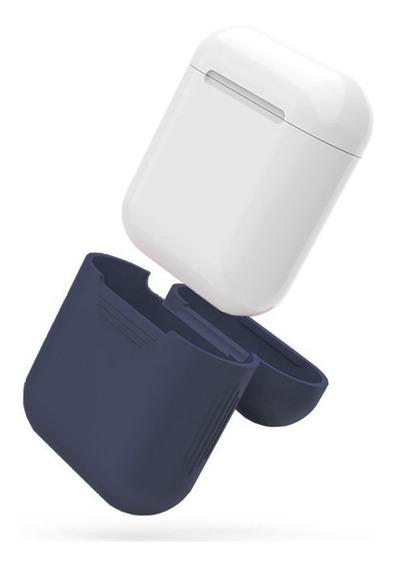Funda Silicon Suave Tacto Seda Case AirPods Audífonos Apple
