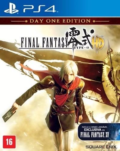 Jogo - Final Fantasy Type 0 Hd - Mídia Física - Ps4