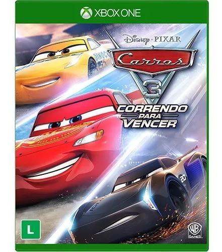 Carros 3 Xbox One Mídia Física Novo Lacrado