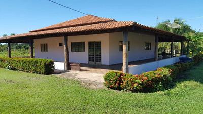 Chácara 7 Ha Com Acesso Ao Rio Aquidauana E Casas Mobiliadas