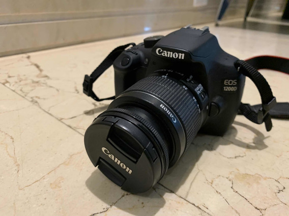 Câmera Canon 1200d + Lente
