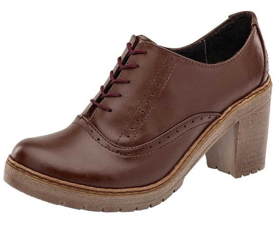 Zapato Catalina 6012 Mujer Talla 22-26 Color Café Pk-oi19
