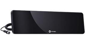 Antena Tv Digital Ultra Slim Hds30 Vinik Vhf Uhf Preta