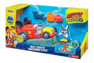 Mickey Auto Carreras Transformable Mickey Fjj31 Envio Full
