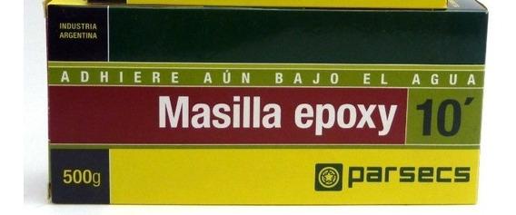 Masilla Epoxi Parcecs 500gr Grande 10 Minutos