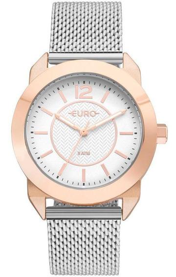 Relógio Euro Feminino Geometric Power Analógico Eu2036ylt/4j