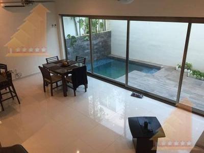 Casa En Renta Amueblada Arbolada Av Huayacan 2 Recamaras Alberca Priv Y Seg
