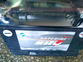 Batería Mito Ciclo Profundo 12v 110ha Panel Solar Náutica