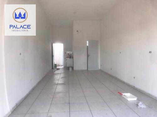 Imagem 1 de 4 de Salão Para Alugar, 55 M² Por R$ 900/mês - Parque Residencial Monte Rey Ii - Piracicaba/sp - Sl0156
