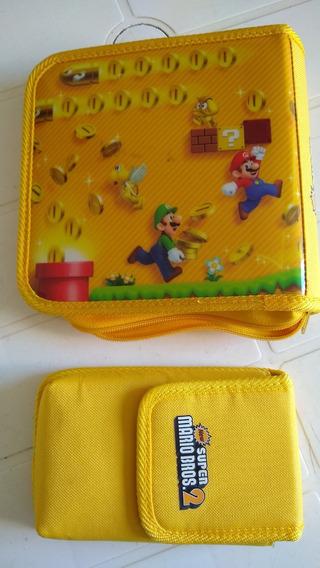 Nintendo New 3ds Xl + 7 Jogos + Bolsa Case