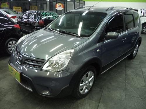 Nissan Livina X-gear Sl 1.8  Flex  Completo Rodas 2014 Cinza