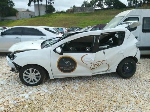 Sucata Renault Sandero 1.6 2017 Branco (retirada De Peças)