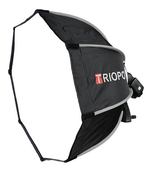 Octabox Softbox Triopo 65cm Para Flash Fotografia Dslr Canon
