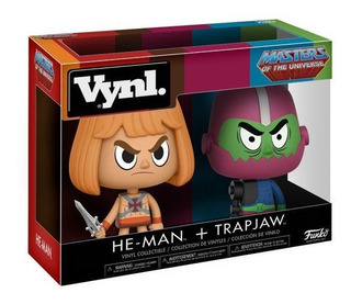 Funko Masters Of The Universe Vynl. He-man + Trap Jaw