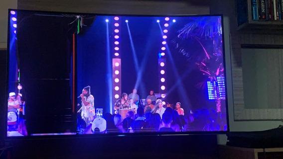 Tv Samsung 55 Curva Tela Quebrada. Tirar Peças