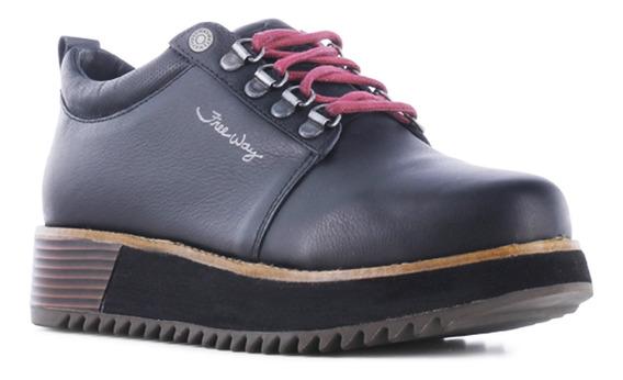 Zapato Dama Freeway Cuero Nadia 021.nadia9997
