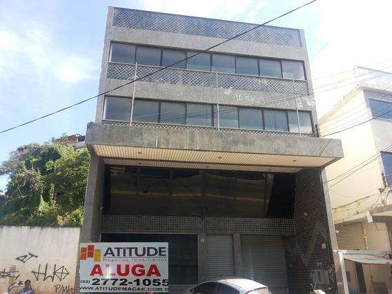 Comercial Para Aluguel, 0 Dormitórios, Centro - Macaé - 755