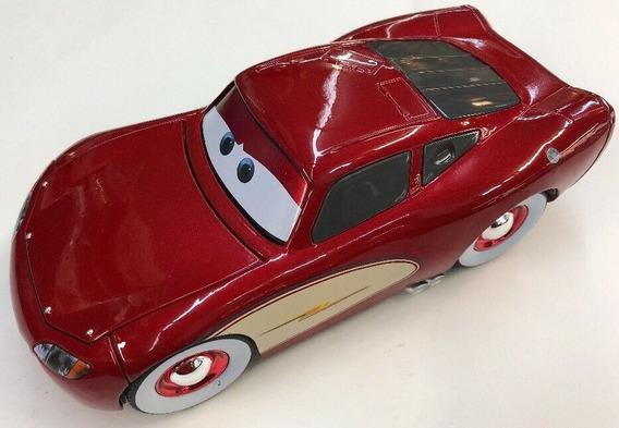 Miniatura Disney Pixar Cars Relâmpago Mcqueen Jada Toys 1:24