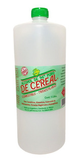 Alcohol De Cereal 96° Puro Tridestilado Potable Orgánico