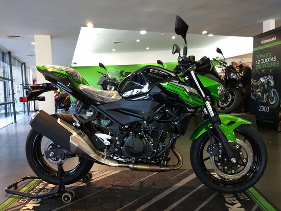Kawasaki Z400 2020 0km Entrega Inmediata Naked Black / Green