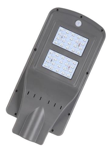 Luminaria Led Con Panel Solar Para Patios O Plazas